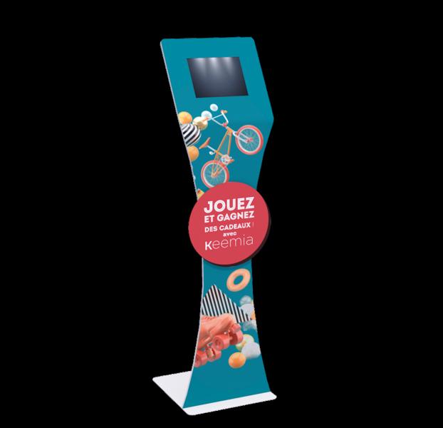 Padee, la borne digitale interactive - Keemia Lille - Agence de Marketing Locale en région Hauts de France