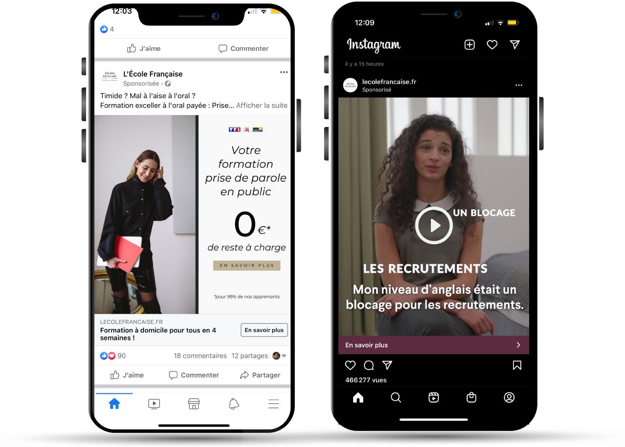 Photo video publicité social media - Keemia Lille - Agence de Marketing Locale en région Hauts de France