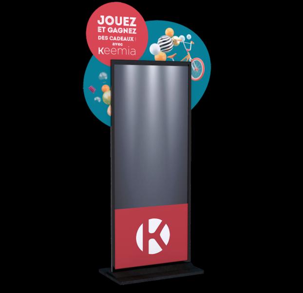 Screeny, la borne digitale interactive - Keemia Lille - Agence de Marketing Locale en région Hauts de France