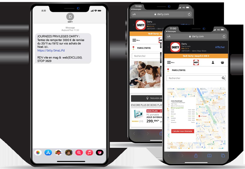 SMS to store - Keemia Lille - Agence de Marketing Locale en région Hauts de France