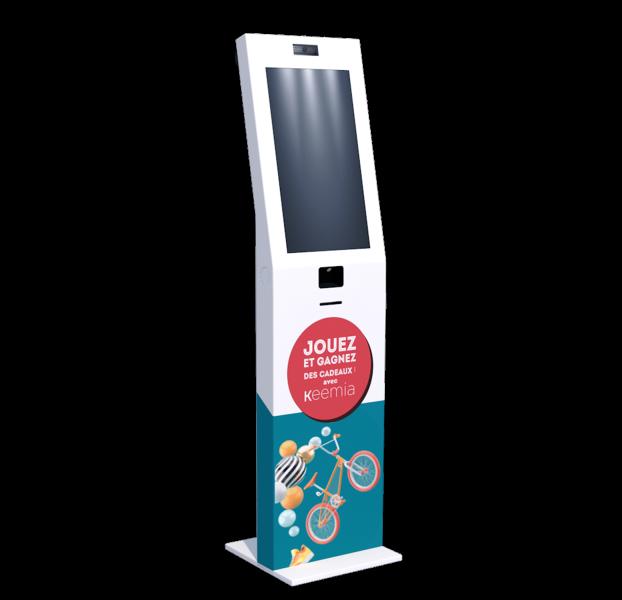 Weezy la borne interactive digitale - Keemia Lille - Agence de Marketing Locale en région Hauts de France