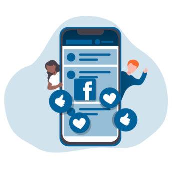 Facebook social media - Keemia Lille - Agence de Marketing Locale en région Hauts de France