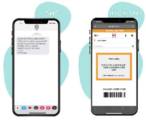Campagne digitale SMS marketing - Keemia Lille - Agence de Marketing Locale en région Hauts de France