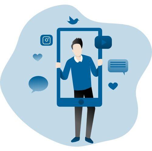 Social media - Keemia Lille - Agence de Marketing Locale en région Hauts de France