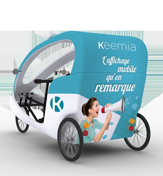 Gumba vélo taxi - Keemia Lyon Agence marketing local en région Rhône-Alpes