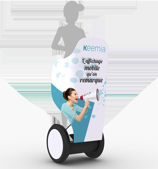 Segway, la visibilité ultra mobile - Keemia Lyon Agence marketing local en région Rhône-Alpes