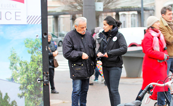 SLC Affichage mobile Keemia Lyon Agence marketing local en région Rhônes Alpes