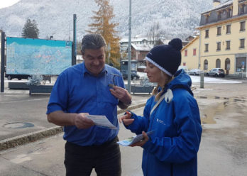 leman express street marketing keemia agence marketing locale en région Rhône alpes