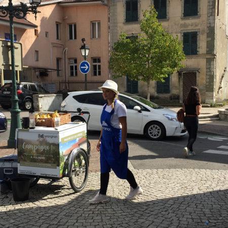 marignan affichage mobile keemia agence marketing locale en région Rhône alpes