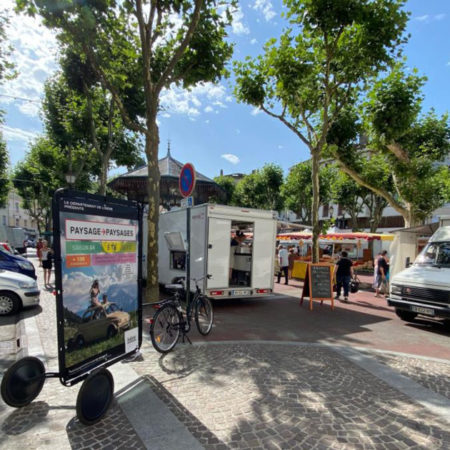 affichage mobile bike com departement isere keemia lyon agence marketing locale en region rhone alpes