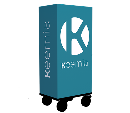 Affi'Cube Cube mobile publicitaire - Affichage mobile - Keemia Lyon Agence marketing local en région Rhône-Alpes