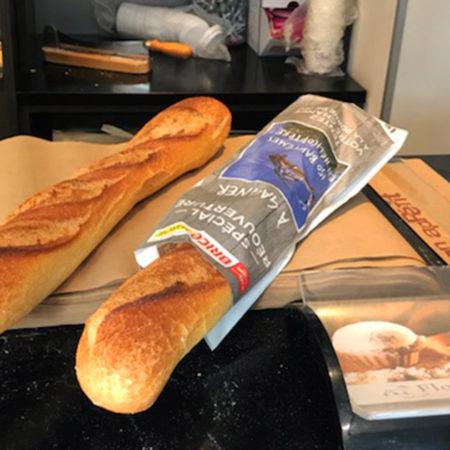 Opération sa à baguette pour Bricomarché avec keemia lyon agence marketing locale en région Rhône alpes