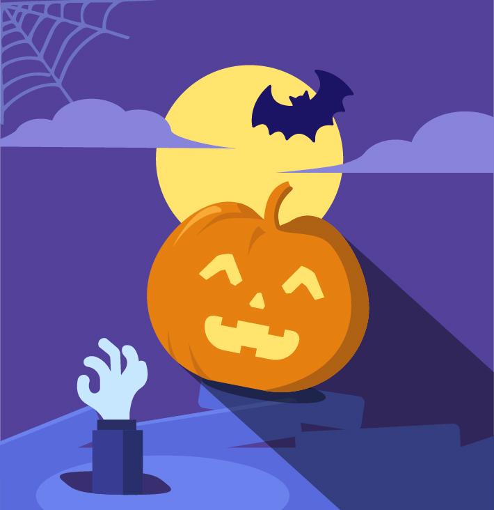 Halloween - Keemia Lyon agence de marketing locale en région Rhône Alpes
