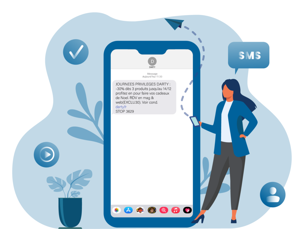 Offre SMS - Keemia Lyon agence de marketing locale en région Rhône Alpes