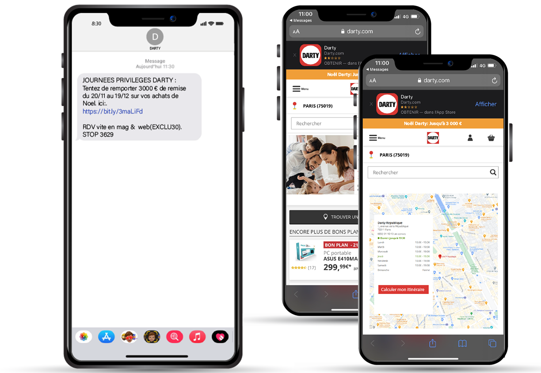 SMS to store - Keemia Lyon agence de marketing locale en région Rhône Alpes