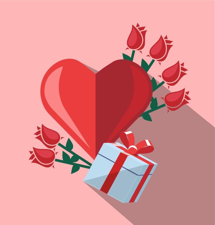 Saint Valentin - Keemia Lyon agence de marketing locale en région Rhône Alpes