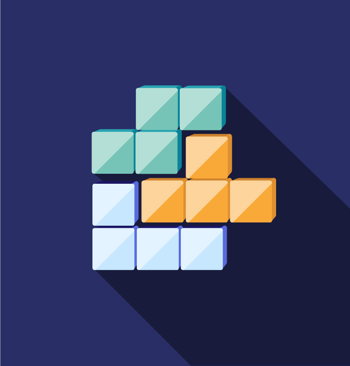 Tetris - Keemia Lyon agence de marketing locale en région Rhône Alpes