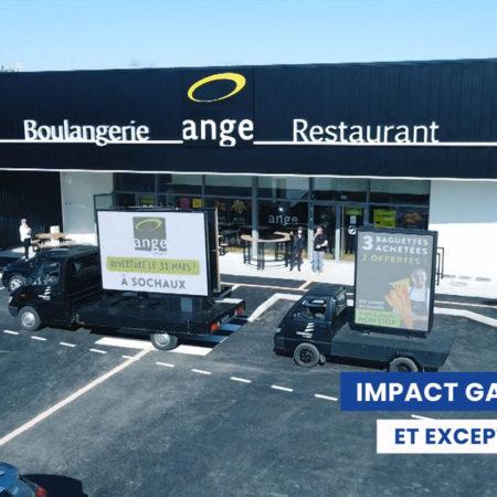 Euromobile Affi'led camion d'Affichage Mobile - Keemia Lyon Agence de Marketing Locale en région Rhône Alpes