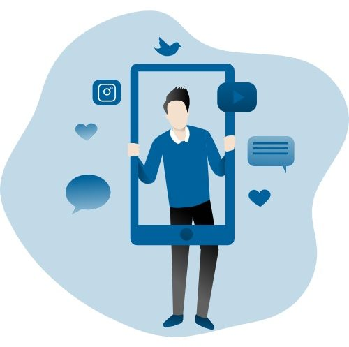 Social media - Keemia Lyon agence marketing locale en région Rhône Alpes