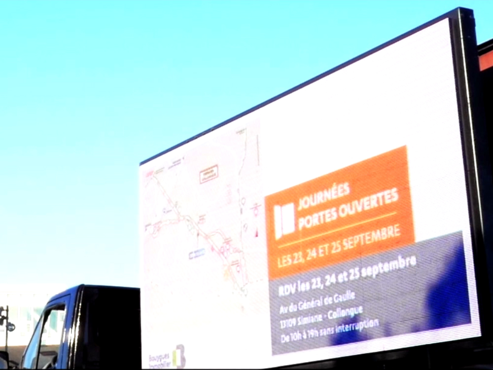 Bouygues Immo - affichage mobile - Keemia agence marketing local Marseille