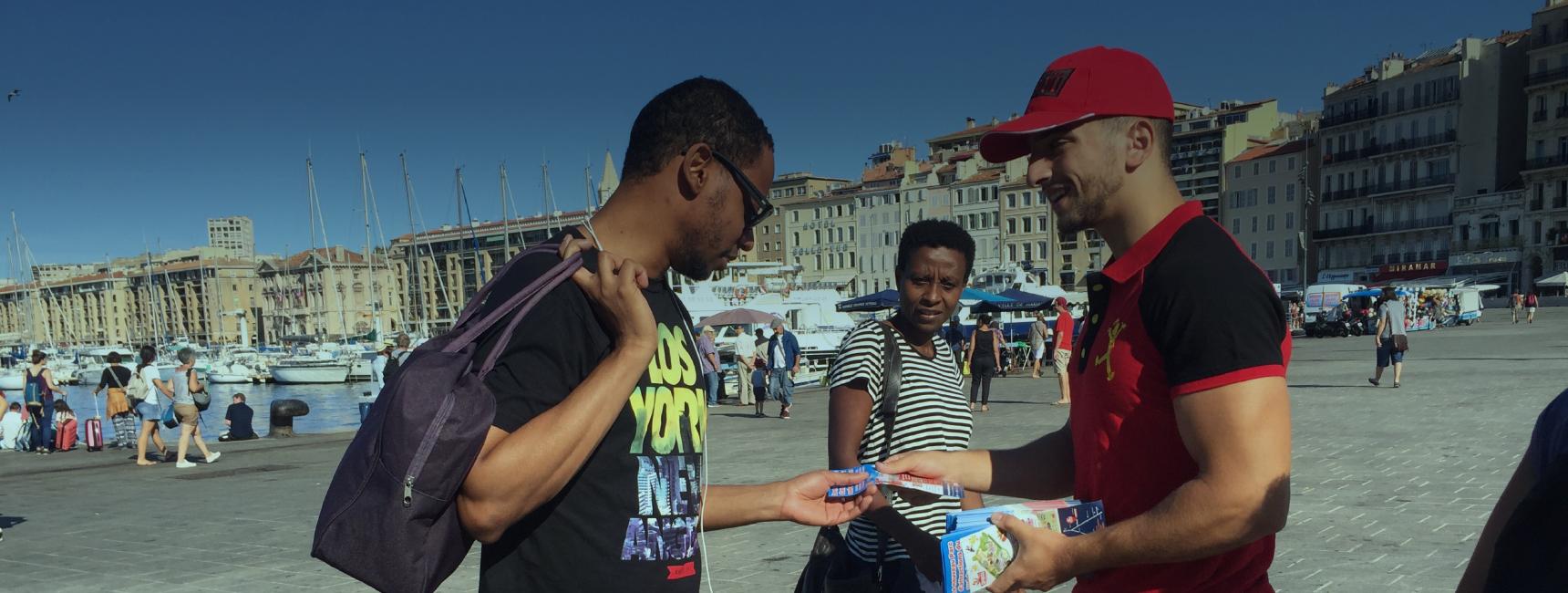 Parc Spirou - Street Marketing - Keemia agence marketing local à Marseille