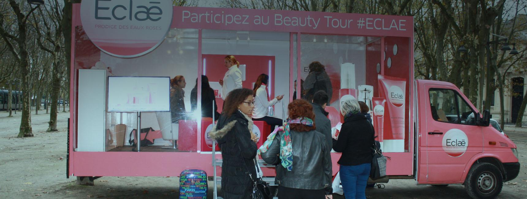 Dispositifs d'affichage mobile - Keemia Marseille Agence marketing local en région PACA