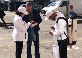 volotea - street marketing - dinkman - keemia agence marketing local à marseille