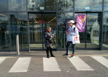 street marketing support tactique pour sfr keemia agence marketing locale en région paca