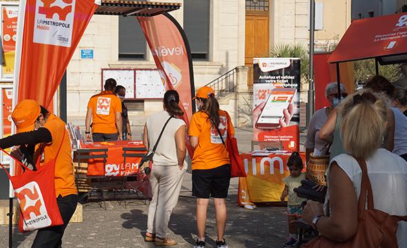 Triporteur digitale pour Trasndev avec Keemia Marseille agence locale de référence dans la région PACA