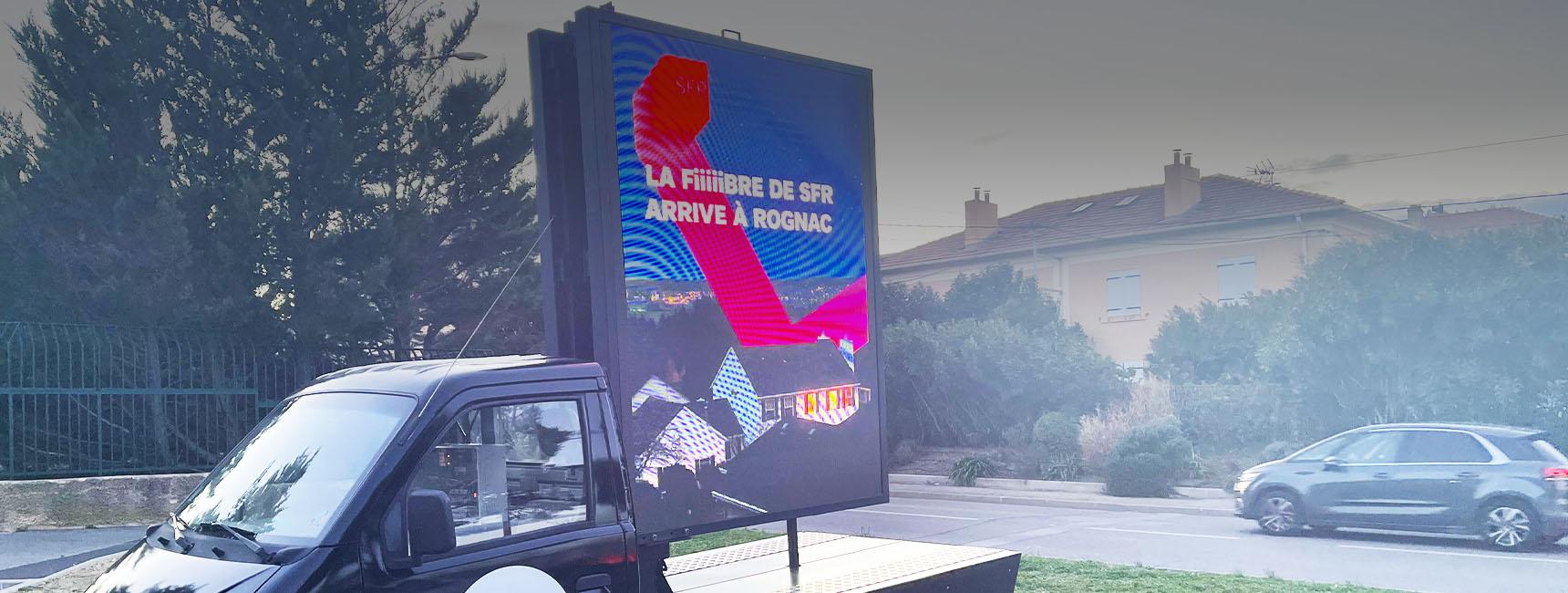 SFR Affi'led lancement fibre - Keemia Marseille agence de Marketing en région PACA