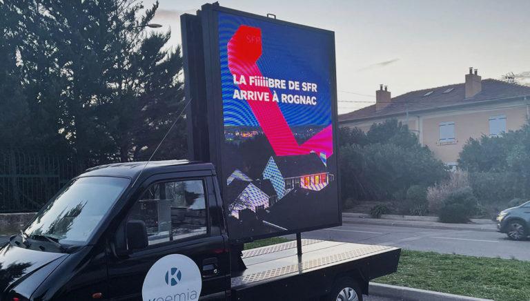 SFR Affi'led lancement fibre - Keemia Marseille agence Marketing en région PACA