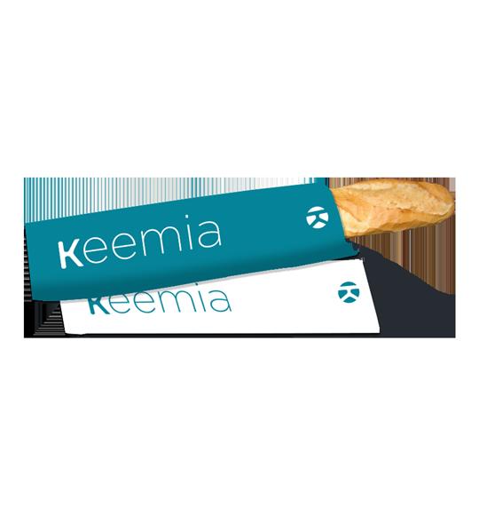Sac à baguette publicitaire - Keemia Nantes Agence marketing local en région Atlantique
