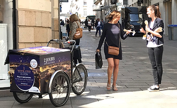 OnlyLyon street marketing Keemia Nantes Agence marketing local en région Atlantique