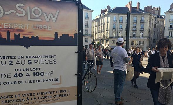Oslow Bâti-Nantes street marketing Keemia Nantes Agence marketing local en région Atlantique