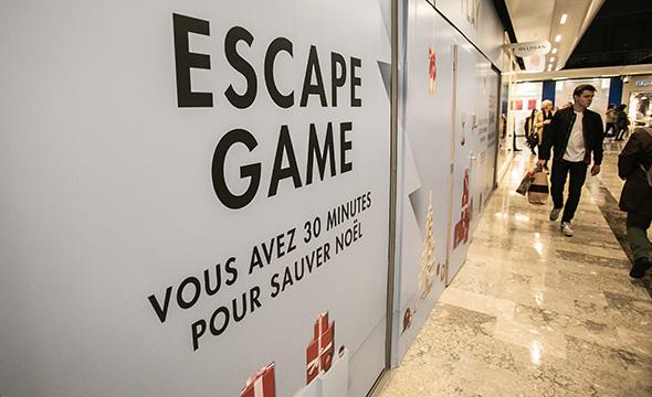 Centre Commerciale Beaulieu - Animation escape game - Keemia Nantes Agence marketing local en région Atlantique