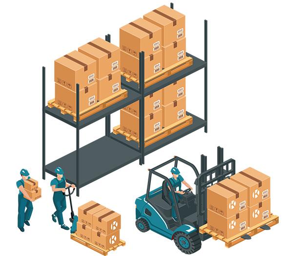 Entrepôts et logistique
