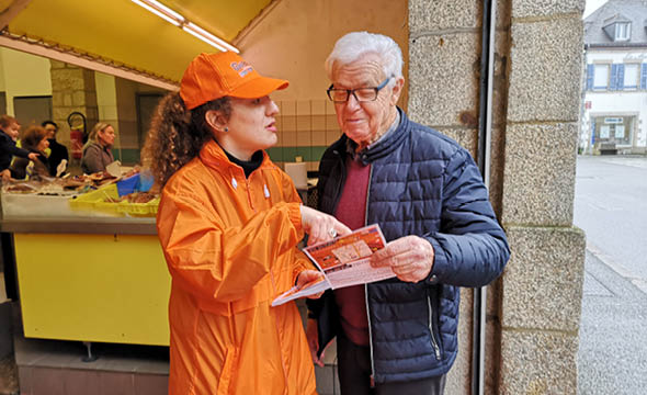 weldom street marketing chaors drinkman keemia nantes agence marketing locale en région atlantique