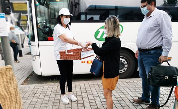Street Marketing semaine de mobilité avec Transdev - Keemia Nantes agence locale de la région Atlantique