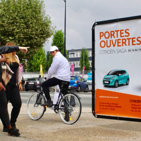 Citroen Affichage mobile Keemia agence marketing local Paris