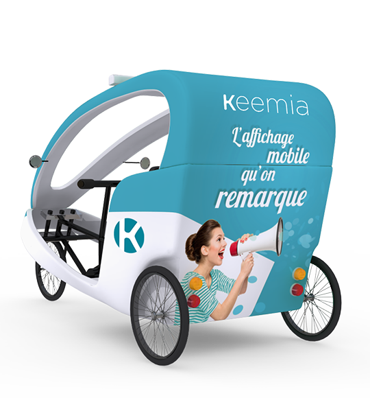 Gumba vélo taxi - Keemia Paris Agence marketing local en région Île-de-France