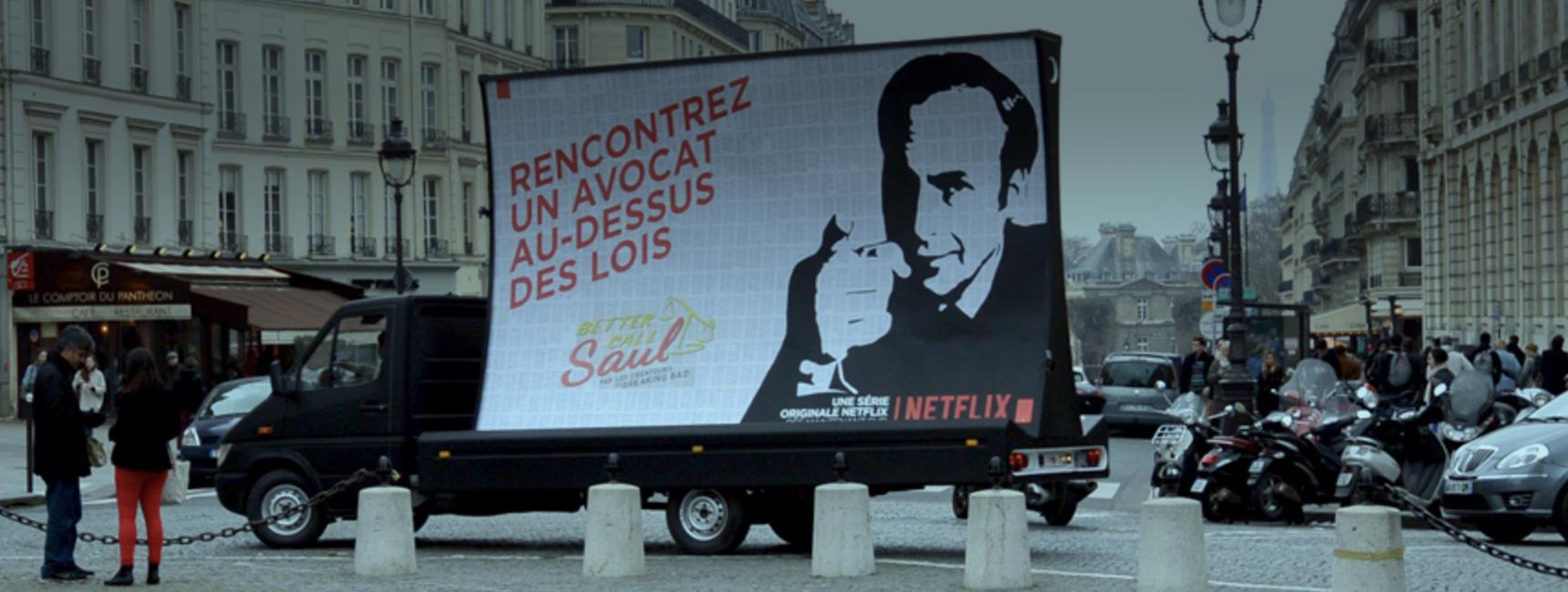 Dispositifs d'affichage mobile - Keemia Paris Agence marketing local en région Île-de-France