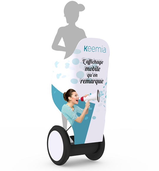 Segway, la visibilité ultra mobile - Keemia Paris Agence marketing local en région Île-de-France