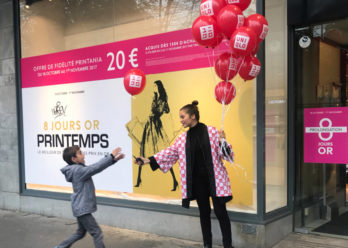 Uniqlo street marketing Keemia agence marketing local Paris