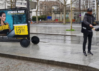 FitnessPark street marketing Choisy Keemia agence marketing local Paris