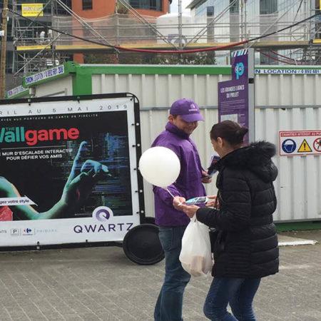 qwartz paques affichage mobile keemia agence marketing locale en région ile de france
