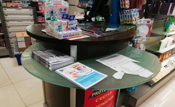 Petit Fils Dépot commerce de proximité Sac à pharmacie - Keemia Paris Agence marketing locale en Région Ile-de-France