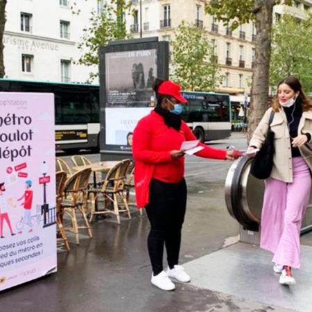 Opération de visibilité pour Pickup avec Keemia Paris, Agence de marketing local en région Ile de France