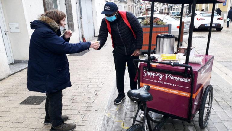 la promenade shopping street marketing keemia Paris agence marketing region Ile de France