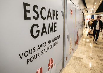 Centre Commerciale Beaulieu - Animation escape game - Keemia Agence marketing local