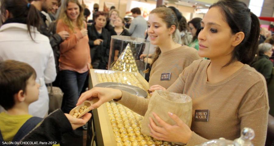 Immersion virtuelle avec Ferrero - Keemia Shopper Marketing Experientiel
